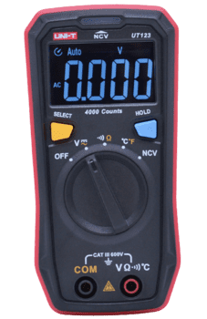Digital Multimeter AC/DC Temp. NCV