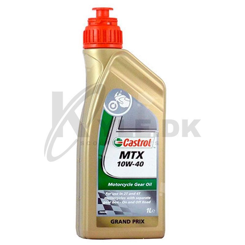 Populære 05706536   Køb Castrol MTX 10w/40 Mineralsk olie - 1 ltr ER-02