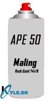 Spray Maling til APE 50 Rock Sand