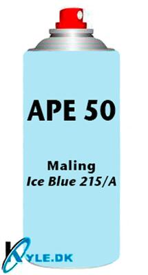 Spray Maling til APE 50 Ice Blue